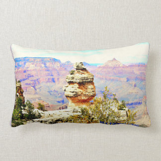 Grand Canyon Rock Lumbar Pillow