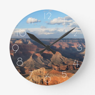 Grand Canyon seen from South Rim in Arizona Wall Clocks