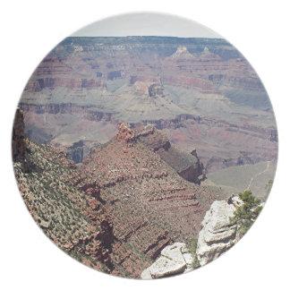 Grand Canyon South Rim, Arizona 3 Dinner Plate