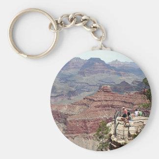 Grand Canyon South Rim, Arizona 5 Basic Round Button Key Ring