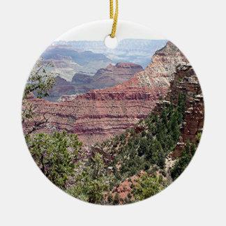 Grand Canyon South Rim, Arizona 6 Round Ceramic Decoration