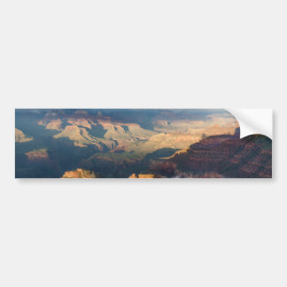 Grand Canyon South Rim from Powell Point Car Bumper Sticker