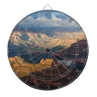 Grand Canyon South Rim from Powell Point Dartboard