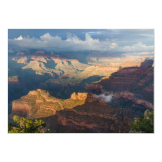 Grand Canyon South Rim from Powell Point Personalized Invitation