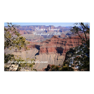 Grand Canyon - South Rim Pack Of Standard Business Cards