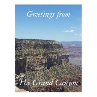 Grand Canyon - South Rim Postcard