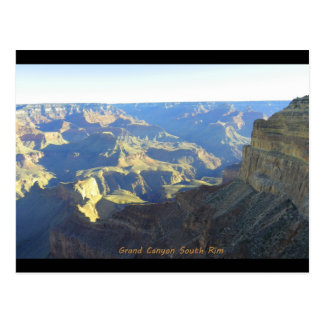 Grand Canyon (south rim) Postcard
