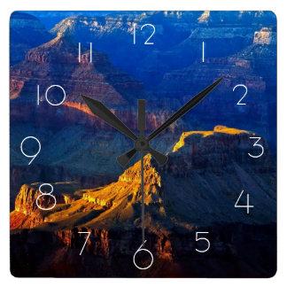 Grand Canyon South Rim Square Wall Clock