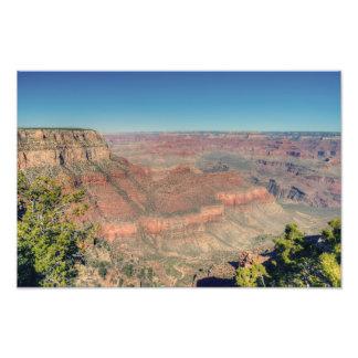 Grand Canyon South Rim Trail Photo Print