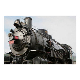 Grand Canyon steam engine Poster