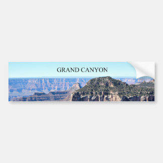 Grand Canyon; Stunning View Bumper Sticker