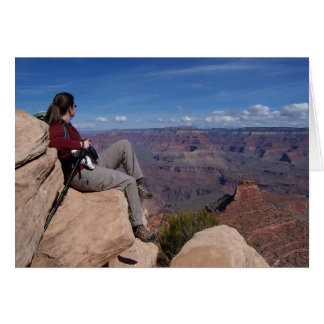 Grand Canyon View Card