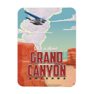 Grand Canyon vintage travel poster Magnet
