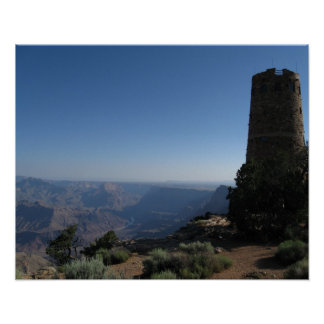Grand Canyon Watch Tower Print