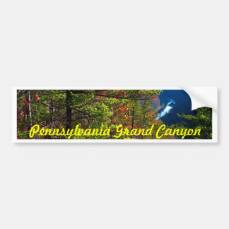 Grand Canyon , Wellsboro Pa Bumper Sticker