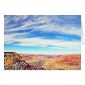 Grand Canyons Arizona Clouds Card