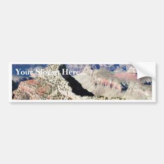 Grand Canyons Cliffs 3 Bumper Sticker
