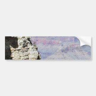 Grand Canyons Cliffs Tourists Bumper Sticker