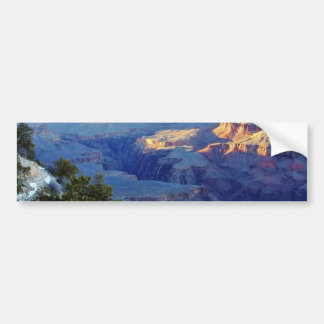 Grand Canyons Sunset Yaki Point Bumper Stickers