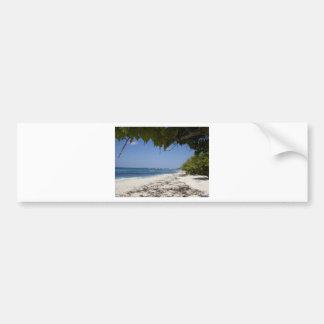 Grand Cayman Beach Bumper Sticker