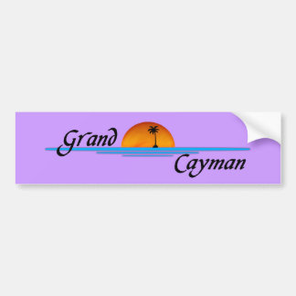 Grand Cayman Bumper Sticker