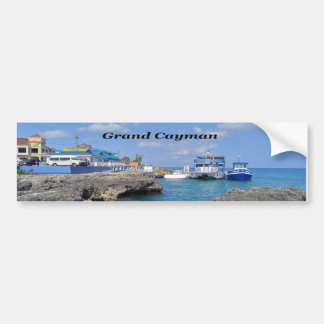 Grand Cayman Bumper Sticker