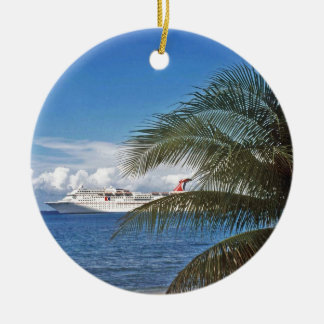 Grand Cayman Ceramic Ornament