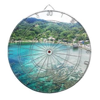 Grand Cayman Coral Reef Dartboard