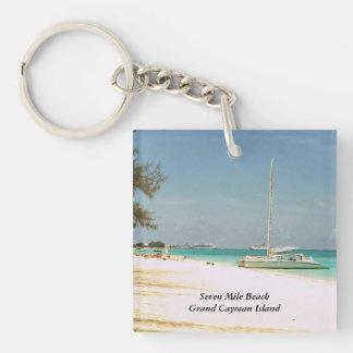 Grand Cayman Island Key Chain