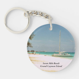 Grand Cayman Island Key Chain