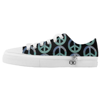 Grand Cayman Peace Sign Low Top Shoes