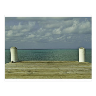 Grand Cayman Water Front Postcard