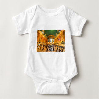 Grand Central Station New York Baby Bodysuit
