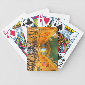 Grand Central Station New York Bicycle Playing Cards