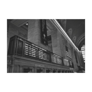 Grand central station New York Canvas Print