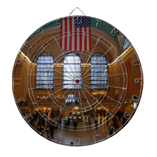 Grand Central Station - NYC Dartboard With Darts