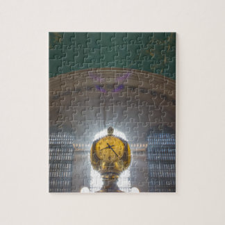 Grand Central Terminal Clock Jigsaw Puzzle