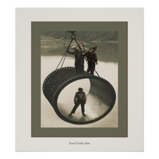 Grand Coulee Dam Poster