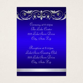 Grand Duchess Blue Guest Info Business Card