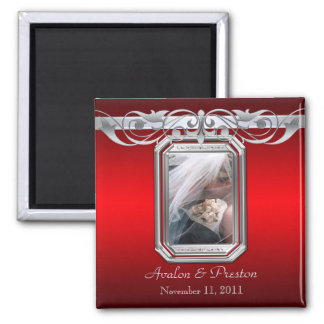 Grand Duchess Red Photo Save The Date Magnet