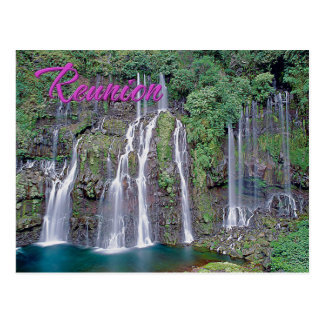 Grand Galet Falls, Reunion Postcard