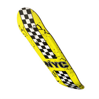 Grand Grind Big Yellow Skateboard