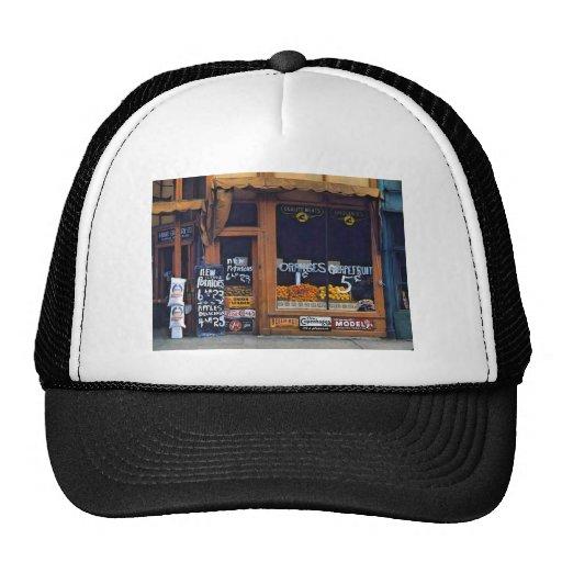 Grand Grocery Company. Lincoln, Nebraska, 1942. Mesh Hat