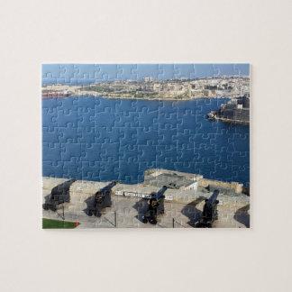 Grand Harbor in Malta Jigsaw Puzzle