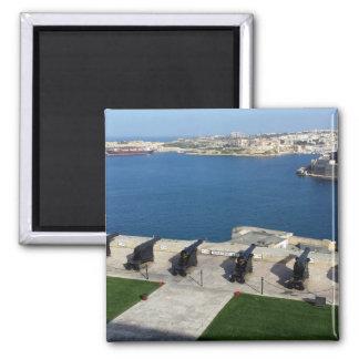 Grand Harbor in Malta Magnet