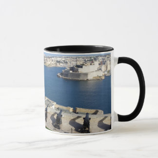 Grand Harbor in Malta Mug