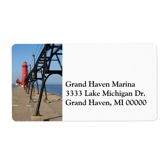 Grand Haven Address Label
