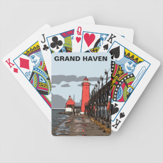 GRAND HAVEN LIGHT BICYCLE PLAYING CARDS