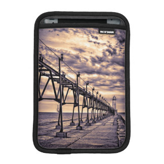 Grand Haven lighthouse and pier, Grand Haven iPad Mini Sleeves