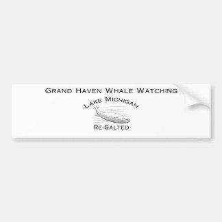 Grand Haven Whale Watching Gear Bumper Sticker
